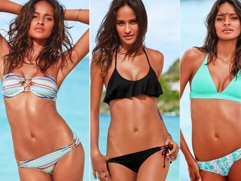 Esta modelo le hace competencia a Alessandra Ambrosio y Adriana Lima. Mi...