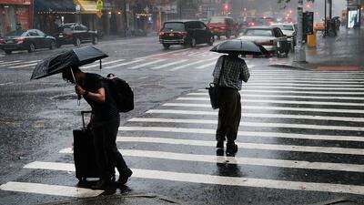 Cielo parcialmente nublado y lluvia, el pronóstico para este martes en Nueva York