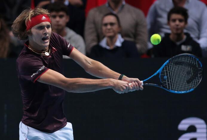 Grupo Boris Becker: Alexander Zverev (Alemania)