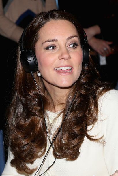 No perdió detalle de la grabación, Kate se ha confesado fan de la serie.