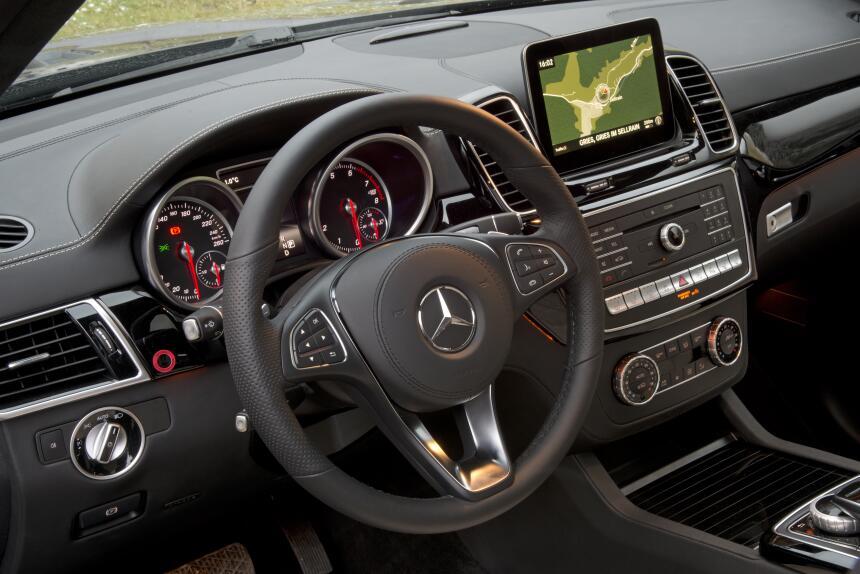 Mercedes-Benz GLS 400 4MATIC 2017 - edición europea.