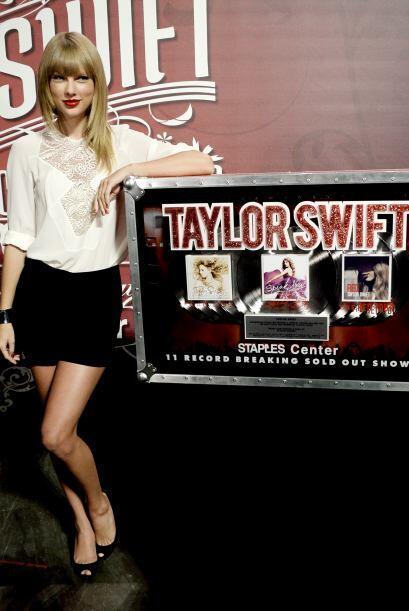Taylor es quizás la joven menor de 30 años más exitosa de la música.