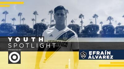MLS Jóvenes Estrellas: Efraín Álvarez una historia de pasión y fútbol con sello mexicano