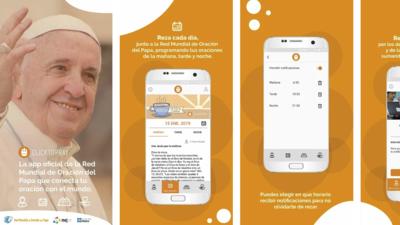 El Papa Francisco crea su perfil dentro del app 'Click to Pray'