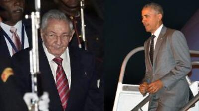 Obama y Castro llegaron a la Cumbre de las Américas 2015 en Panamá