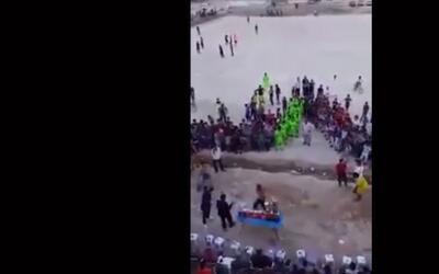 Captan detonación en estadio de Irak