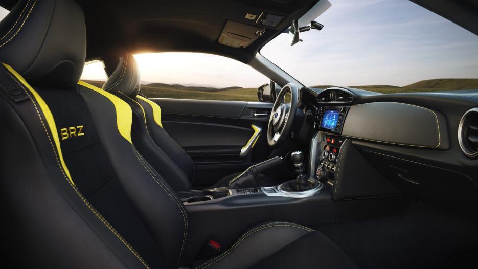 Subaru BRZ Series. Yellow 2017