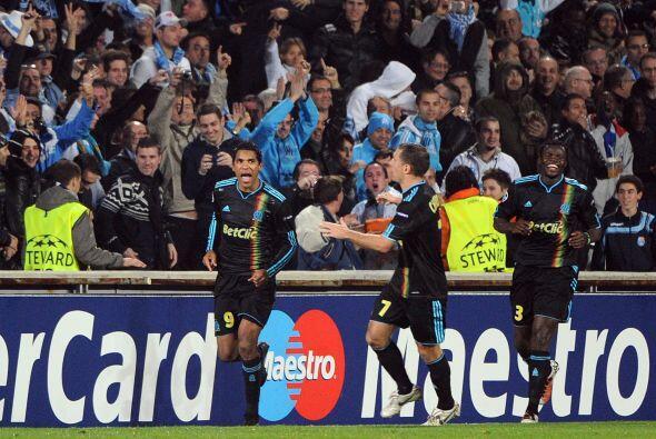 Un tanto de Brandao le dio los tres puntos al Marsella.