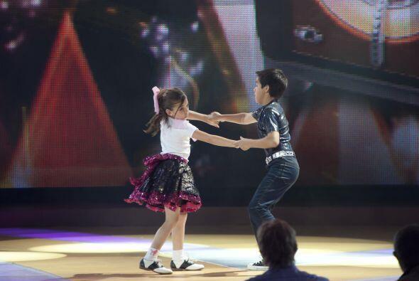 En el baile Daryna y Jorge consiguieron la calificación perfecta