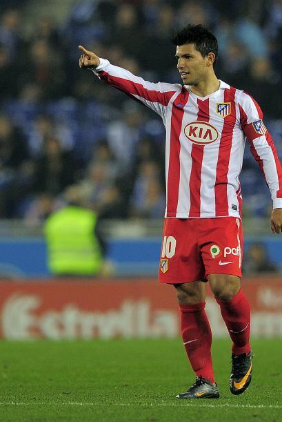 Pese a la ausencia de Diego Forlán, el 'Kun' respondió.