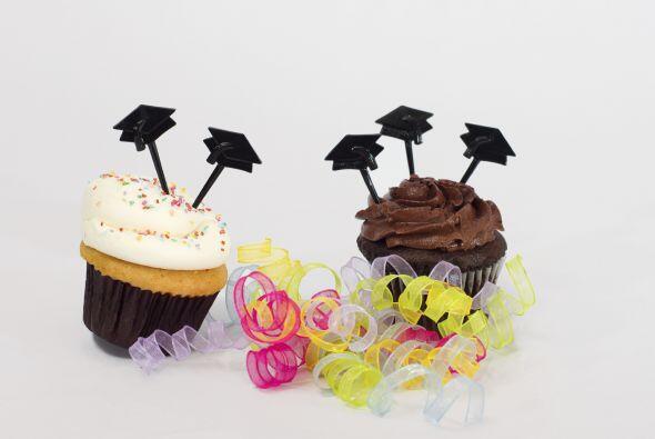 Un delicioso postre. No es el cumpleaños de nadie, así que servir pastel...