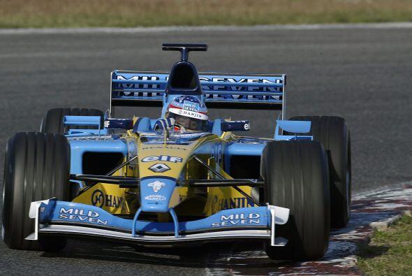 En el 2003 ganó el Gran Premio de Hungría, doblando al mísmisimo Michael...