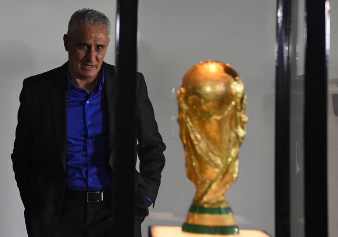 Tite, seleccionador de Brasil.