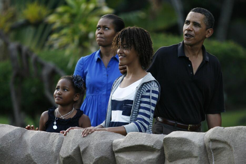Sasha Obama no se llama así: conoce el nombre real de la hija menor de B...