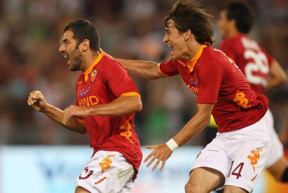 El gol de Simone Perrotta mandaba momentáneamente al alargue el d...