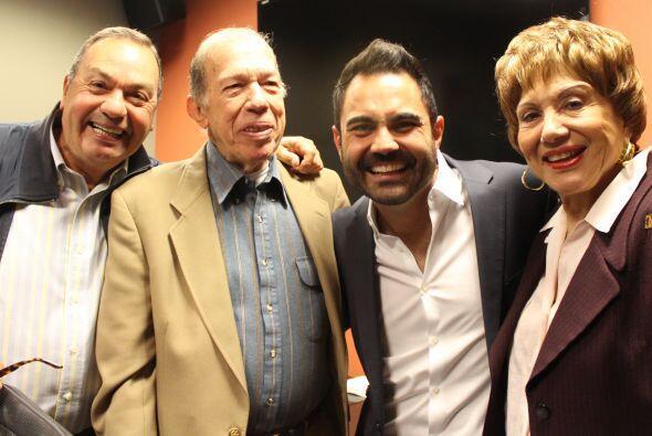 Humberto Cortina, personalidad, Radio Mambí 710 AM; Armando Pérez Roura,...