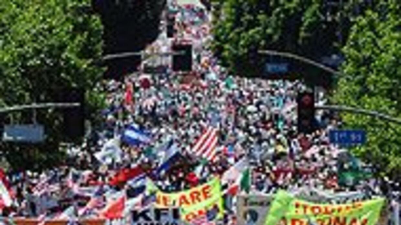 Anuncian nuevas movilizaciones nacionales en apoyo a la reforma migrator...