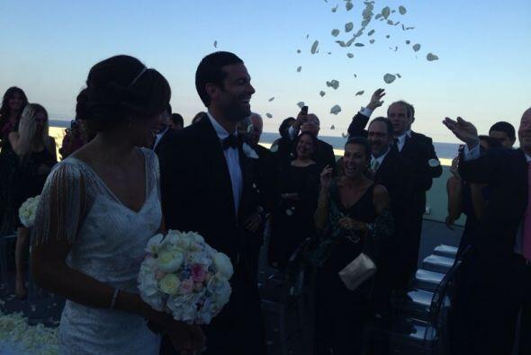 Qué bella boda la de Satcha y Aaron celebrada en el majestuoso ho...