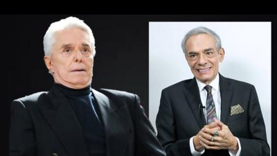 Enrique Guzmán y José José.