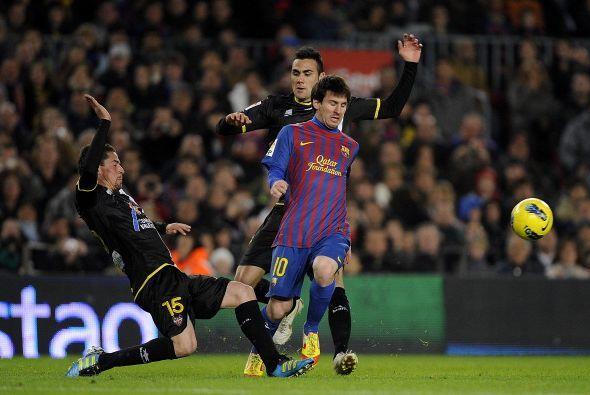 Messi siguió buscando su gol y lo consiguió.