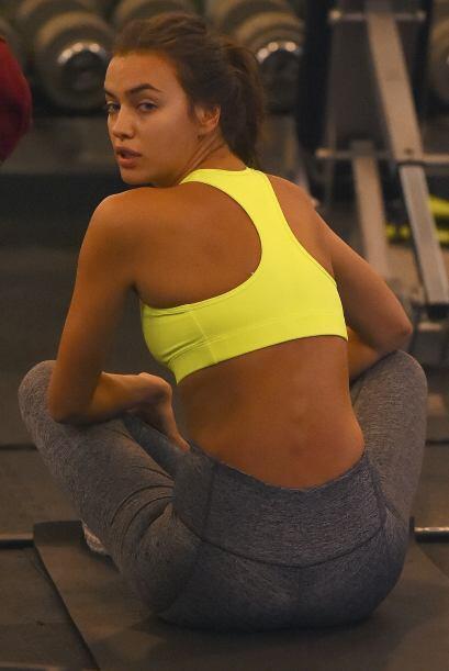 Pero si hay alguien que suda la gota gorda entre pesas y ejercicios aeró...