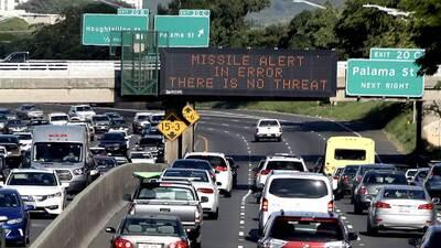 La alerta de misil balístico contra Hawaii fue una falsa alarma: alguien...