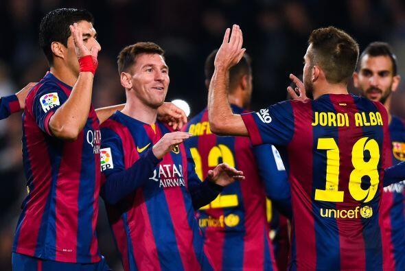 En la fecha 15 Leo no pudo destacar en Madrid y el club azulgrana empat&...