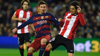 Messi sigue en duda para el choque en San Mamés.