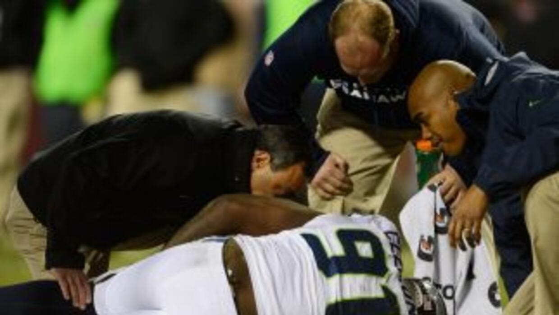 El ala defensivo de los Seahawks sufrió rotura de ligamento y de menisco...
