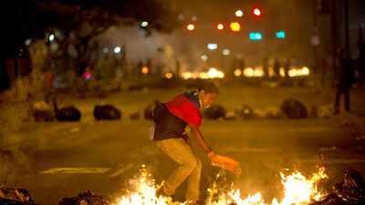 Continúa la furia en las calles de Venezuela