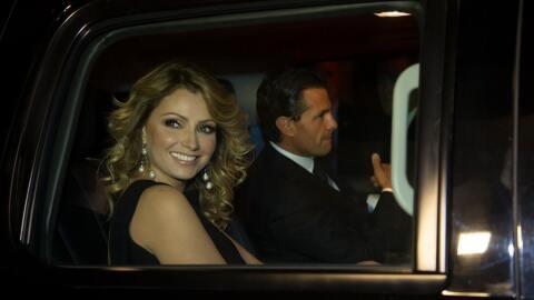 Angélica Rivera y Enrique Peña Nieto. (Archivo)