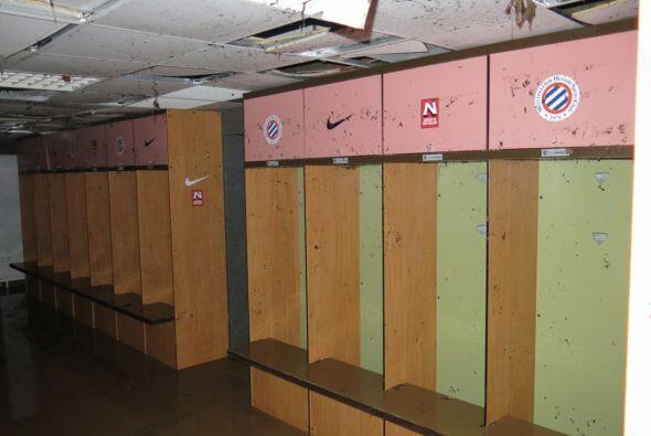 Vestidores, túneles, triubunas, la sala de prensa y en su totalidad la c...