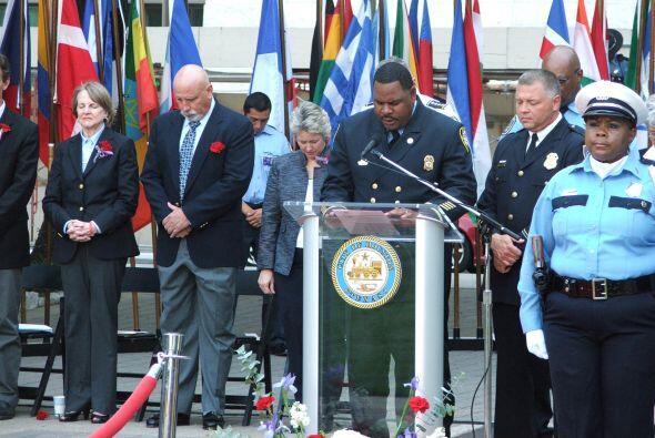 El Jefe del Departamento de Policía de Houston, Charles McClelland pidió...