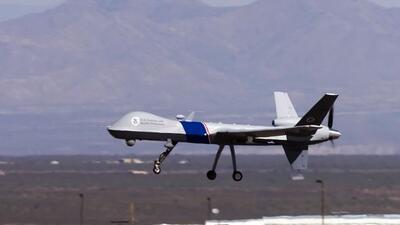 Los aviones de vigilancia en la frontera, siguen siendo los ojos y los o...