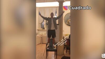 Cristiano Ronaldo no se salvó de las novatadas de sus compañeros de la Juve
