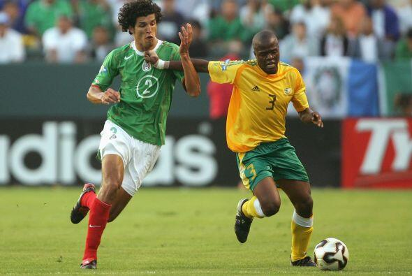 El marcador final fue de 2-1 a favor de los africanos con goles de Phill...