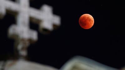 'Luna de sangre', la principal protagonista del eclipse lunar más largo del siglo XXI
