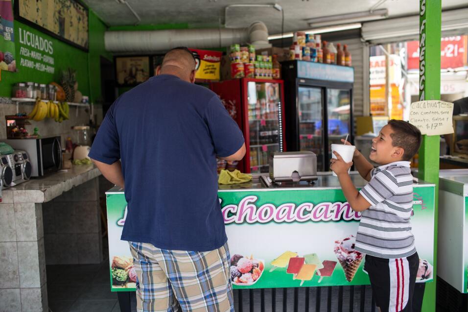 Las bebidas y comidas salen mucho más baratas en la parte sur del Río Br...