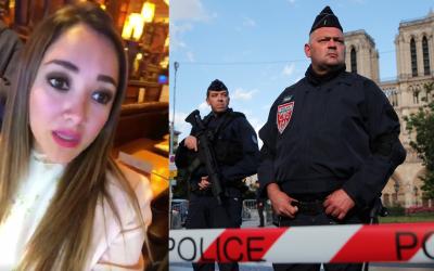 Sherlyn estaba en una cafetería cuando un hombre atacó  co...