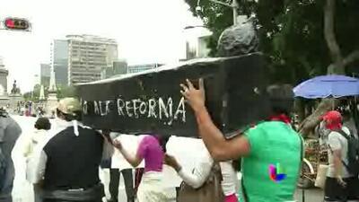 Congreso mexicano aprobó reforma educativa