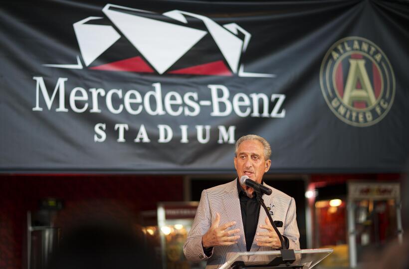 Mercedes-Benz Stadium, nueva casa de Atlanta Falcons y sede del Super Bo...