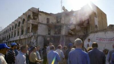 """El sangriento atentado de hace diez años en Bagdad, el """"11-S de la ONU""""..."""