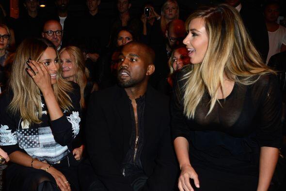 Pero de plano la noticia de la semana fue la aparición de Kim Kardashian...