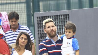 Lionel Messi es un papi súper 'cute'