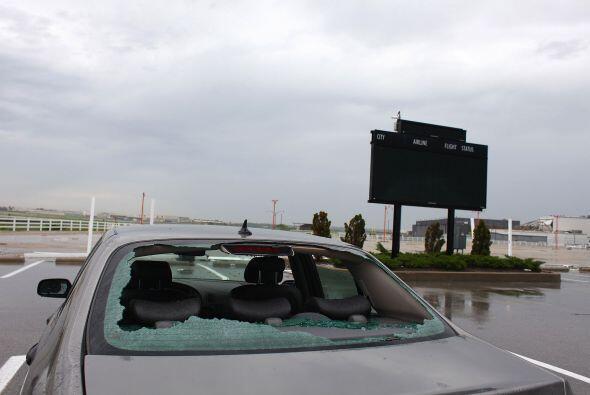 Como en todas las tragedias naturales, los autos también son víctimas in...