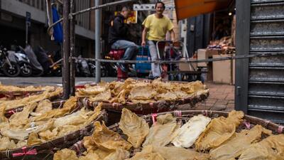 En fotos: Así es el mercado negro de totoaba en Asia