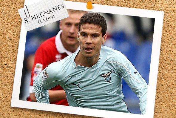 El último mediocampista en nuestro equipo es el brasileño Hernanes.