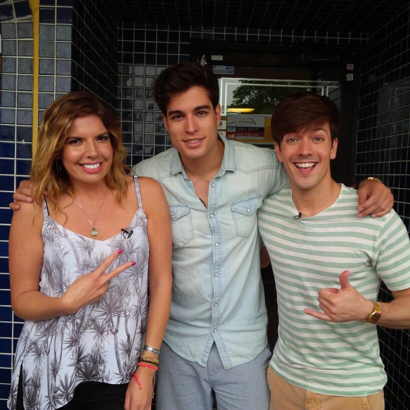 Fernanda, Danilo y Roger