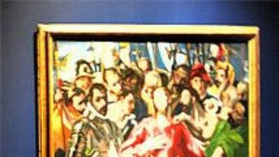 """El magistral obra de El Greco que normalmente está en el """"Museo del Prad..."""