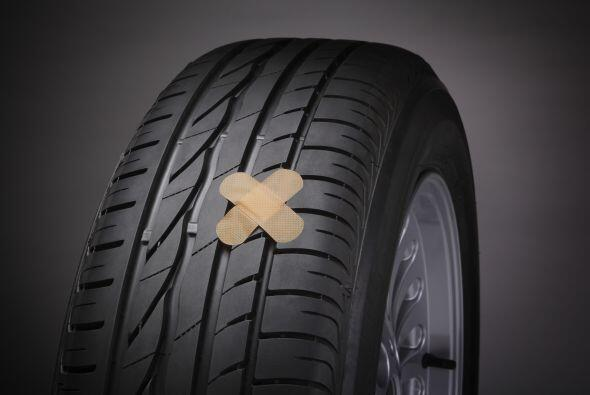Parches para neumáticos. De la misma manera que puedes quedarte s...